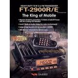 Radio Vhf Yaesu Ft-2900 75w Px Py Pu Pp 12x Frete Gratis