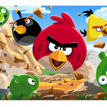 Kit Imprimible Y Candy Bar Angry Birds Invitaciones Cotillon