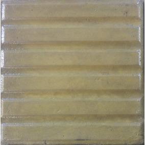 Baldosa 20x20 Color Amarillo - 6 Bastones - 9 Panes - 3 Bas