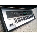 Teclado Sintetizador Secuencer Roland Gw7 Pitch Canje Envio!