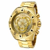 Relógio Importado Dourado Masculino Analogico