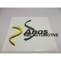 Emblema Adesivo 25 Anos - Fiat - Nbz