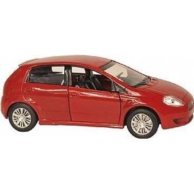 Clássicos Nacionais Fiat Punto Vermelho 11cm Metal Ano 2008