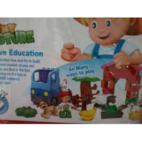 Brinquedo Pedagogico Fazendinha 36 Pças-fret16