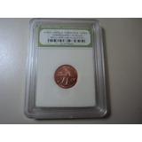 1 Centavo Certificado 2009 D Estados Unidos Penny