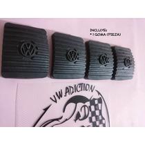Goma Hule Pedal Vocho Original Clutch-freno Pza Logo Vw(dhl)