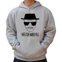 Moletom Heisenberg - Breaking Bad - Canguru Blusa Capuz!