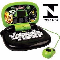 Laptop Computador Tablet Infantil Ben 10 - Pronta Entrega