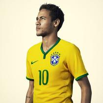 Camisa Nike Seleção Brasil I 2014 - Jogador - Pronta Entrega