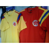 Camiseta Retro De Colombia-italia.brasil-napoli.boca.ferro.