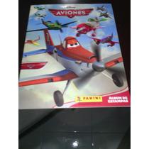Album Aviones Estampas Sueltas 86.6% Lleno Panini Disney