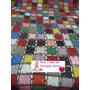 Colcha De Casal Em Croche Square Colorida