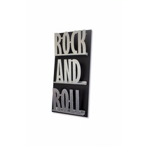 Revistero De Pared Triple Rock And Roll Metal