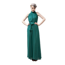 Hermoso Vestido De Mujer De Chifon Para Fiesta Unico!!!!!!