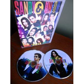 Dvd Duplo - O Melhor De Sandy E Júnior (70 Clipes)