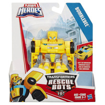 Transformers Rescue Bots - Bumblebee Transformavel 12cm