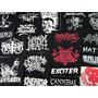 Lote Econômico 30 Patches Bandas Metal | Revenda
