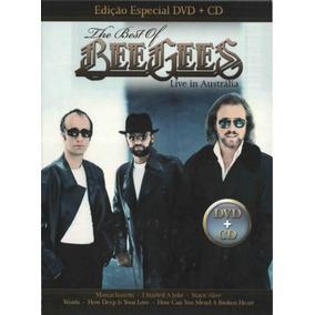 Bee Gees - Live In Austrália Dvd + Cd - Digipack