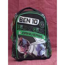Mochila De Ben10 Y Kitty Espalda Chica Licen Original