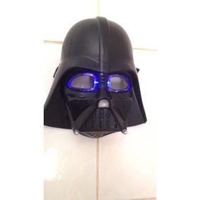Máscara Do Darth Vader [star Wars] Com Luz.