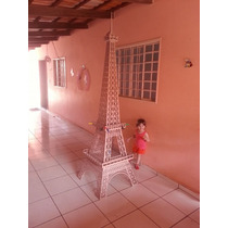Torre Eiffel Mdf 3,75 Metros De Altura Festa Decoração