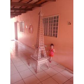 Torre Eiffel Mdf De 6mm 3 Metros De Altura Festa Decoração