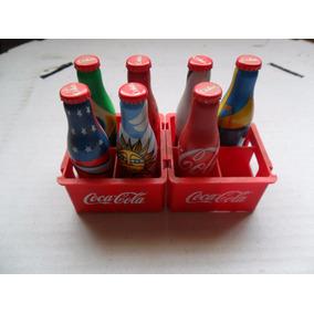 Coleção Coca Cola Mini Garrafas Copa 2014