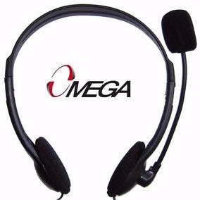 Audifonos Con Microfono Omega Original Tienda Factura