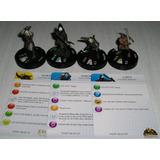 4 Miniaturas Heroclix Hobbit Y El Señor De Los Anillos