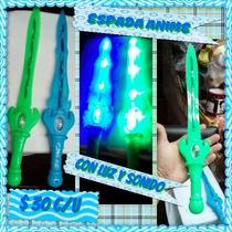 Espadas Con Luz Y Sonido Anime Para Este Día Del Niño