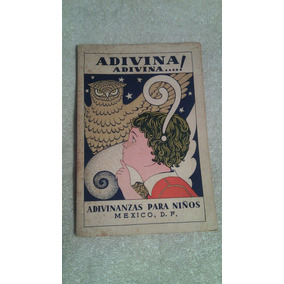 Libro Adivina Adivina! Adivinanzas Para Niños, México D.f.