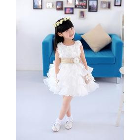 Vestido Para Bebê/menina Princesas, Daminha. Festa Infantil