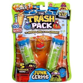 Trash Pack X 5 Basuritas Serie 7 Jugueteria Bunny Toys