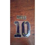Numeracion Barcelona Visita Tercera 2014-15 Messi