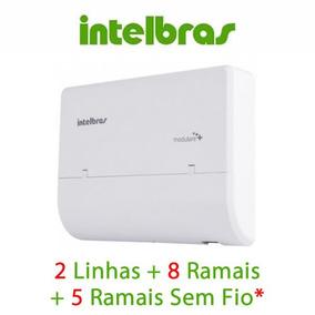 Micro Central Pabx Intelbras Conecta Mais 2 Linhas 8 Ramais