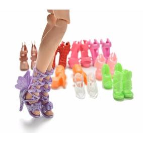 Kit 12 Pares Sapato Barbie *não Repete Modelos* Sapatinho