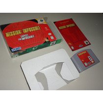 Mission Impossible Original Completo P Nintendo 64