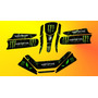 Kit Calcos Karting Monster Laminado 3m Grueso Satinado