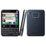 Celular Motorola Mb502 Com Motoblur 3g Novo Nacional!nf+2gb!