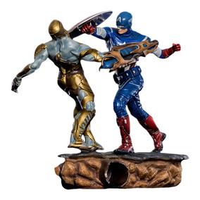 Captain America 1/6 Diorama - The Avengers - Iron Studios