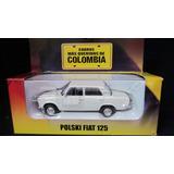 Fiat 125 Polski Coleccion El Tiempo Escala 1/43 Eilcolombia