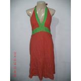 Lindo Vestido Frente Única - Tam; G R$ 48,00