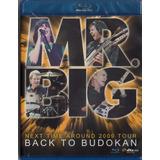 Mr. Big - Back To Budokan Blu-ray Importado Lacrado Mr Big