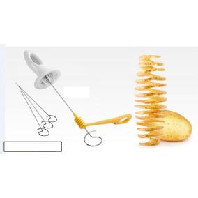 Cortador Fatiador De Batata Em Aspiral Produto Novo Chips