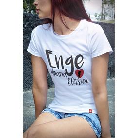 T-shirts Baby Look Cursos Engenharia Elétrica