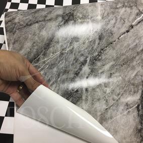Revestimento Auto Adesivo Pedra Marmore Aplike - 1m X 60cm