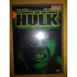 Filme A Morte Do Incrivel Hulk Dvd Original Bill Bixby