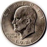 Moneda 1 Dolar 1971 Plata Usa Estados Unidos Oferta