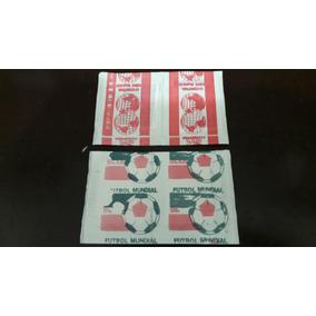Envelopes De Figurinhas Copa Do Mundo 1986
