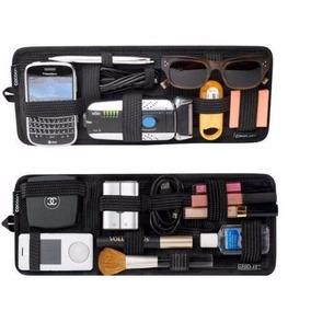 Porta Treco Objetos Maquiagem Organizador P/ Carro Celular